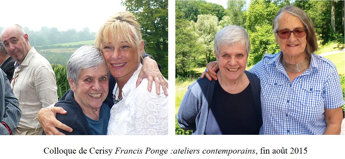 Francis Ponge : ateliers contemporains (2015)