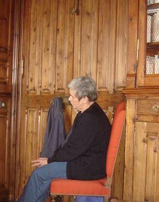 Catherine dans la Bibliothèque