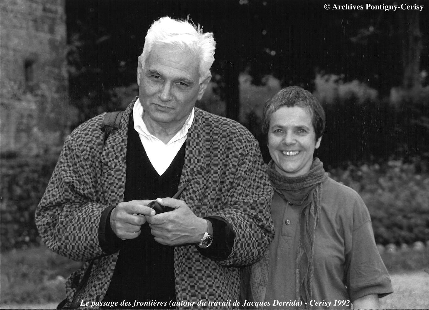 Le passage des frontières (autour du travail de Jacques Derrida) (1992)