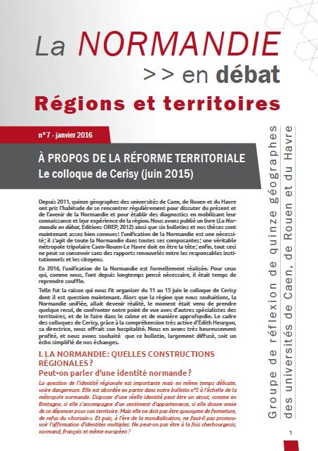 La Normandie en débat