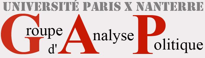 Groupe d'Analyse Politique