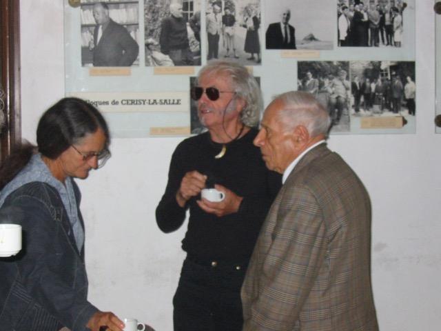 Edith HEURGON, Jean RICARDOU & Maurice de GANDILLAC